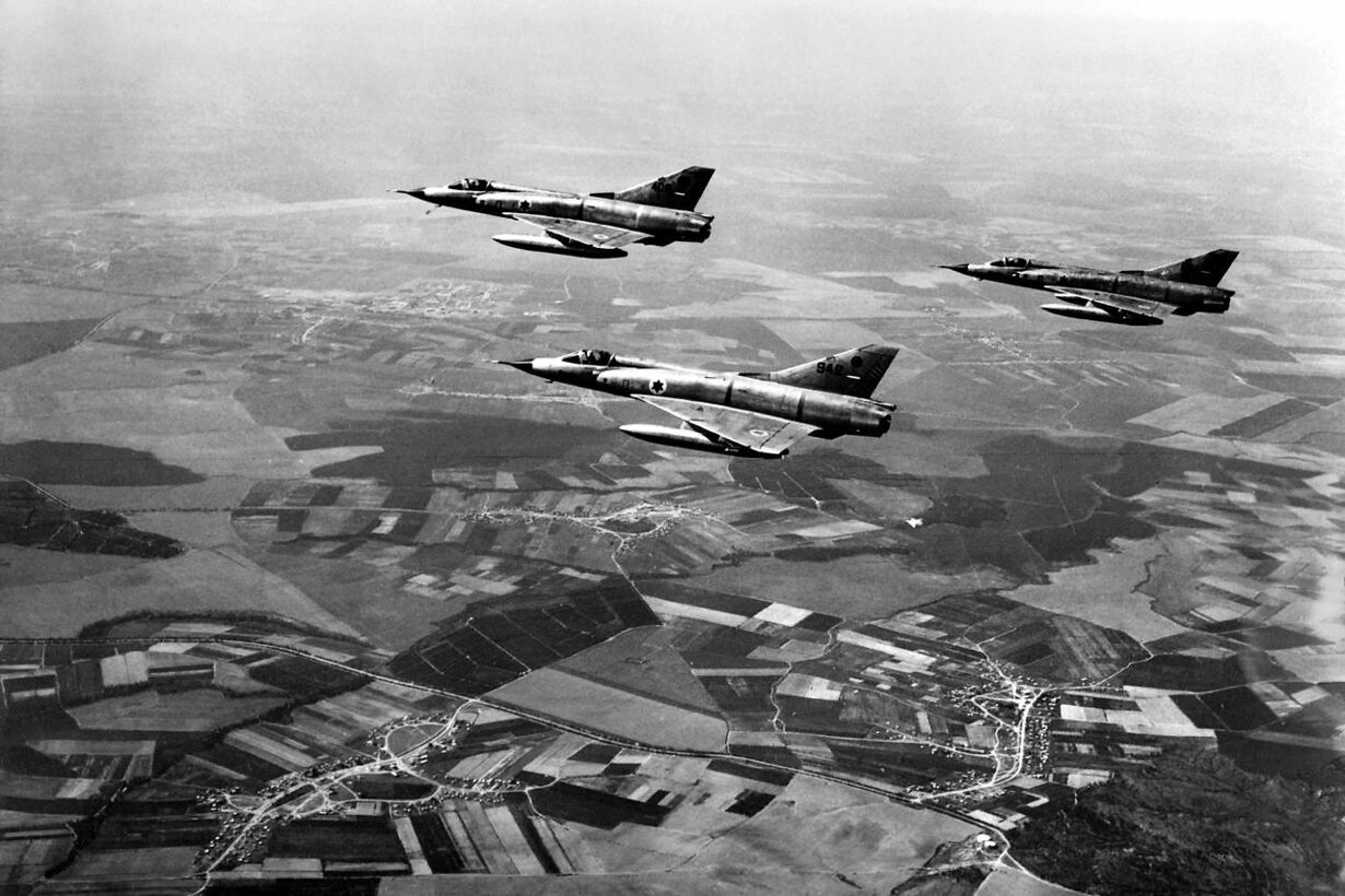 6 dages krigen FILES-ISRAEL-EGYPT-6DAY WAR-50 YEARS