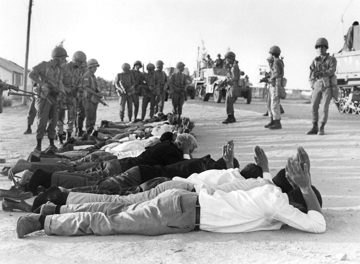 FILES-MIDEAST-ISRAEL-PALESTINIAN-WEST BANK-1967