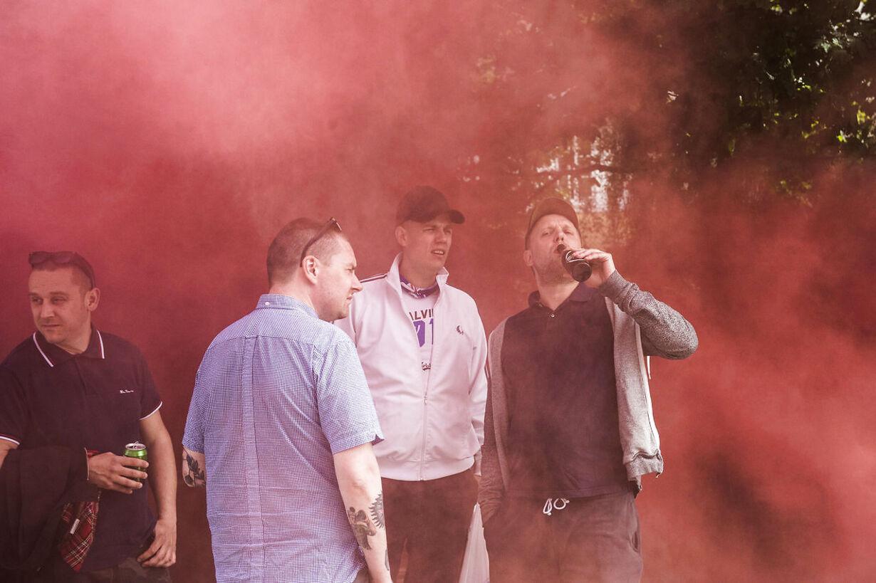 FC København fans til pokalfinale