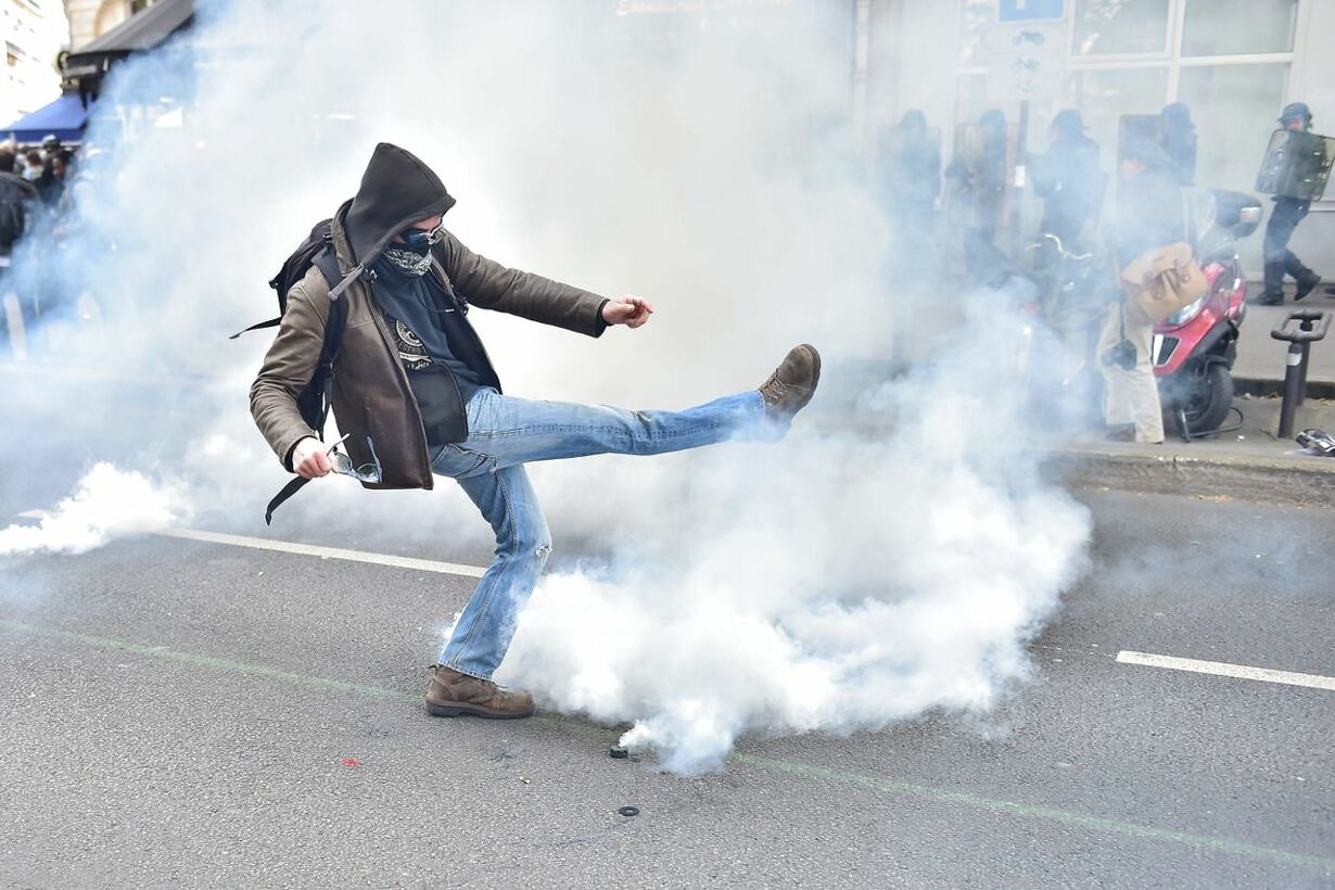 1 Maj i Paris FRANCE-LABOUR-MAYDAY-DEMO