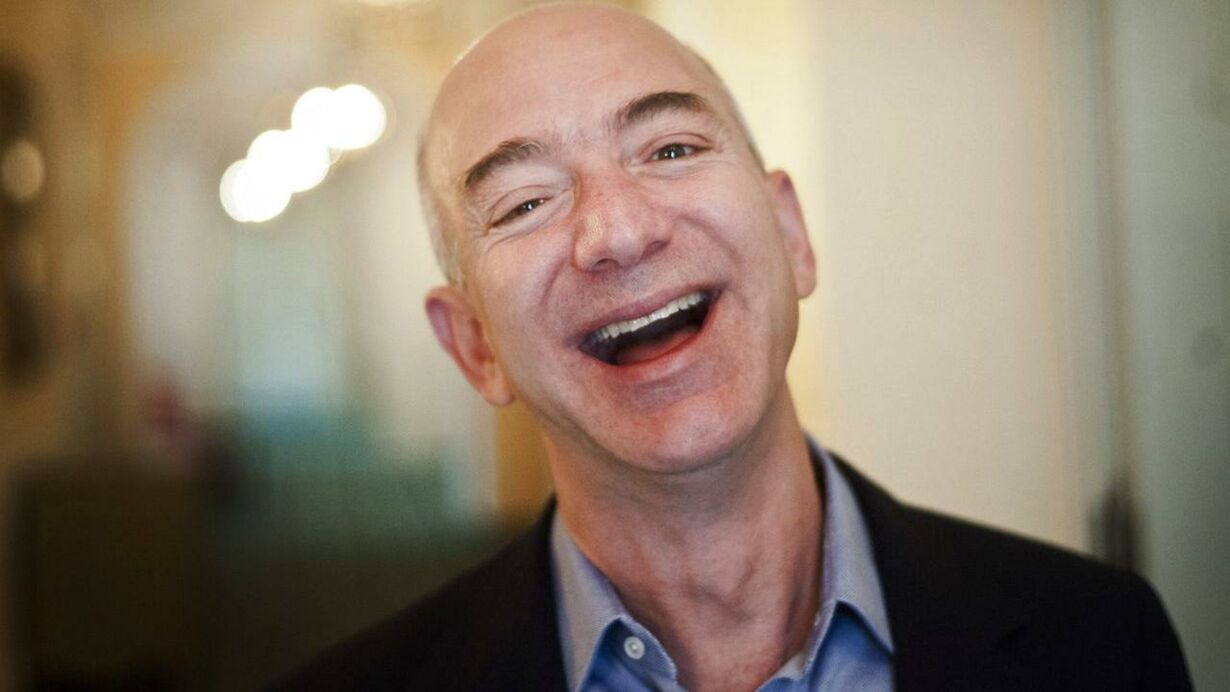7.  Jeff og Mackenzie Bezos