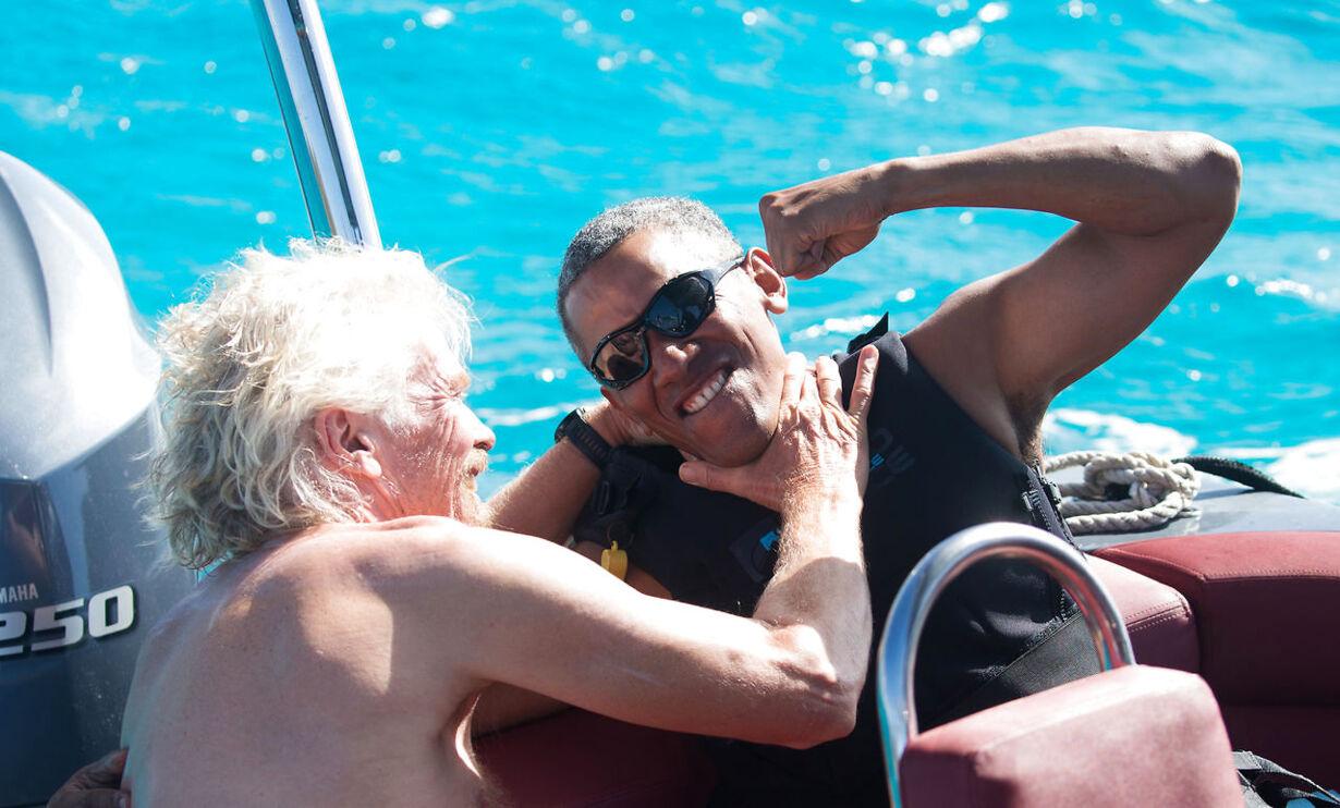 Obama nyder sin tid som ekspræsident