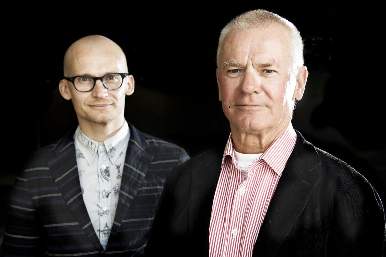 Tirsdag   Christian og Thor Stadil