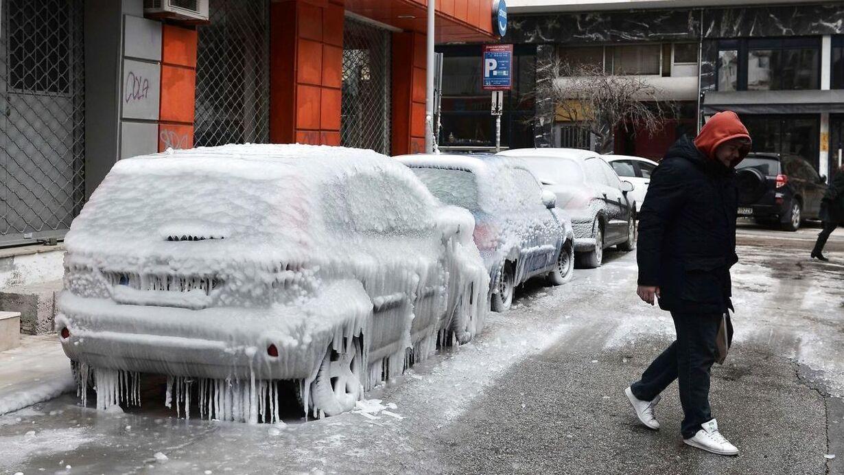 Sne i Europa