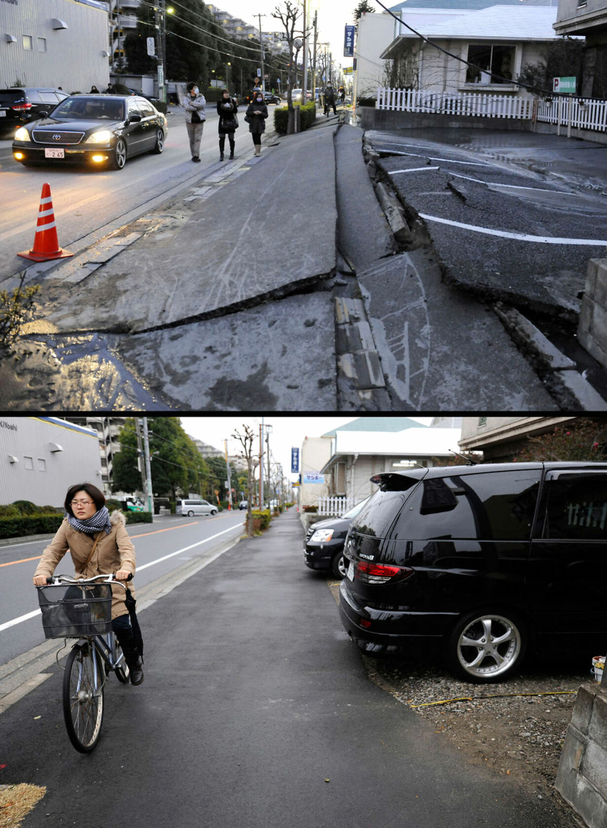 JAPAN-QUAKE-DISASTER-ONE YEAR-COMBO