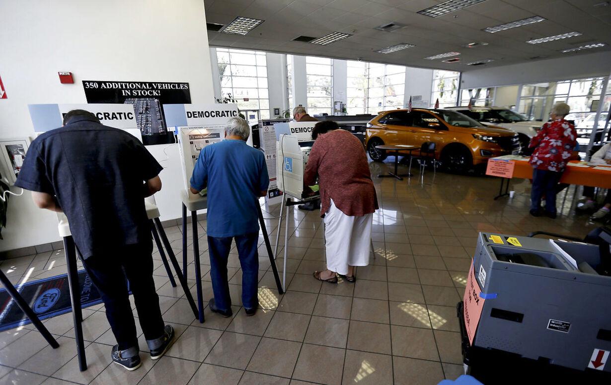 VALG i USA: Se de mærkelige stemmesteder