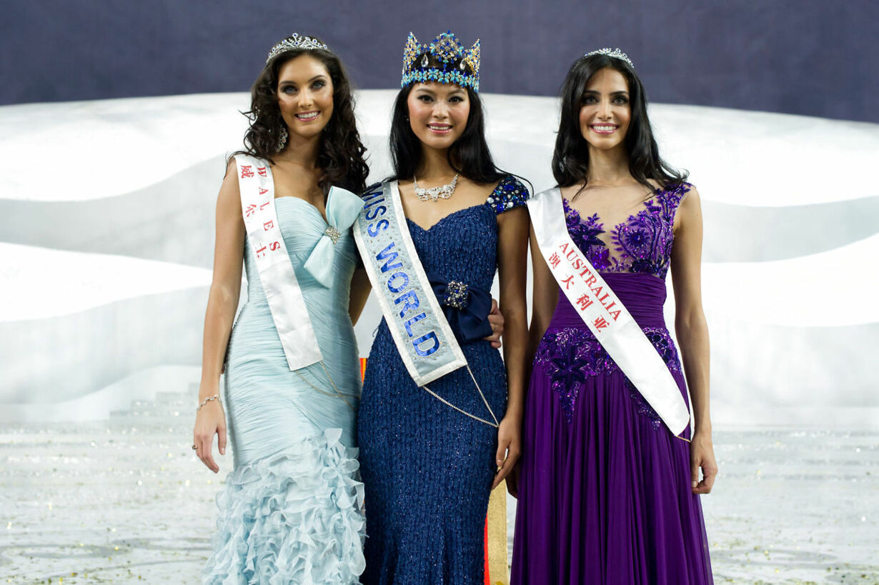 CHINA-LIFESTYLE-WOMEN-MISS WORLD