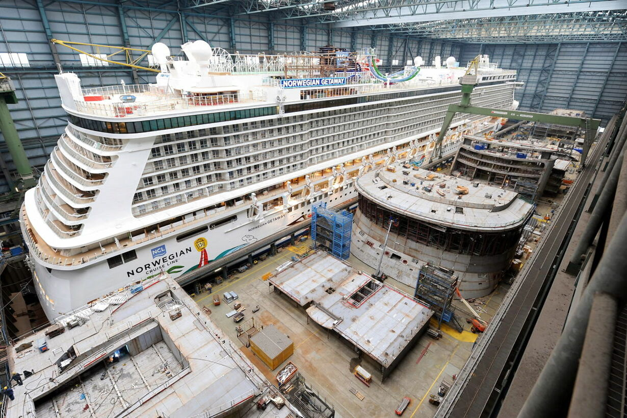 GERMANY SHIPBUILDING CRUISE SHIP