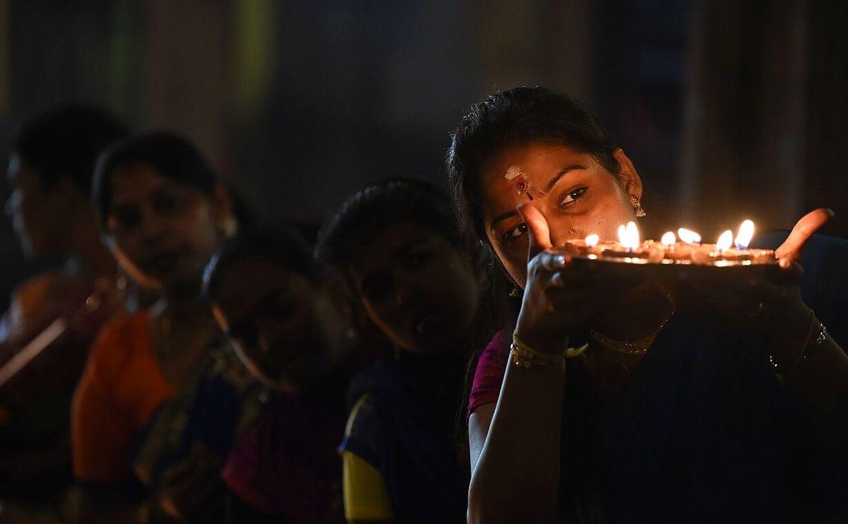 SRI LANKA-RELIGION-HINDU