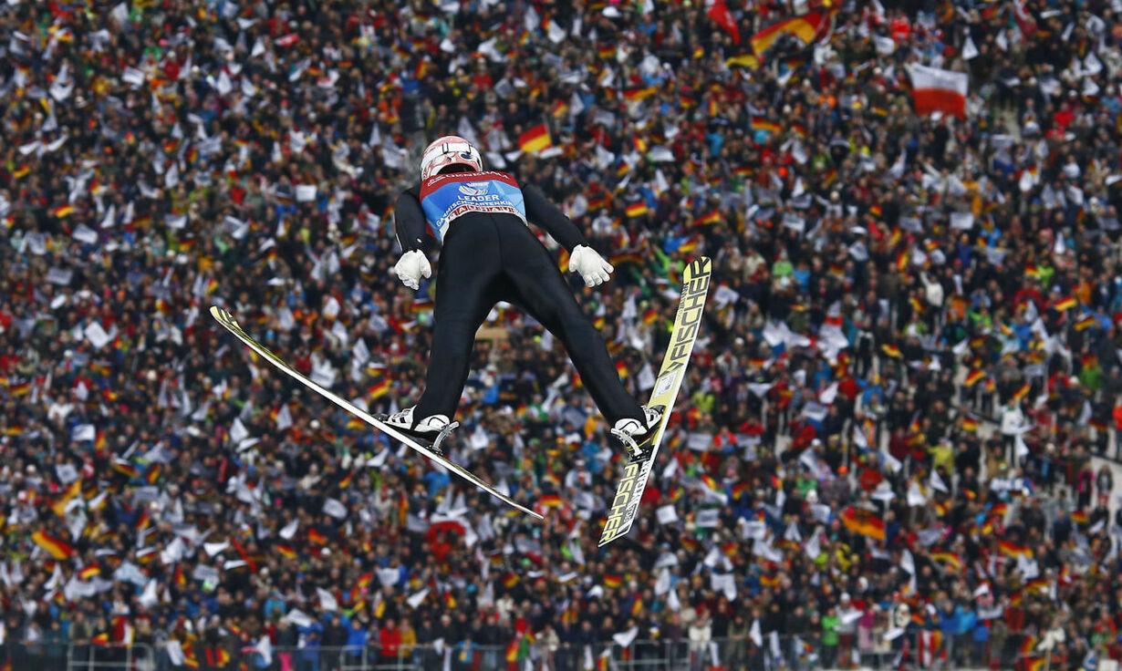 Ski-hop fra Garmisch-Partenkirchen