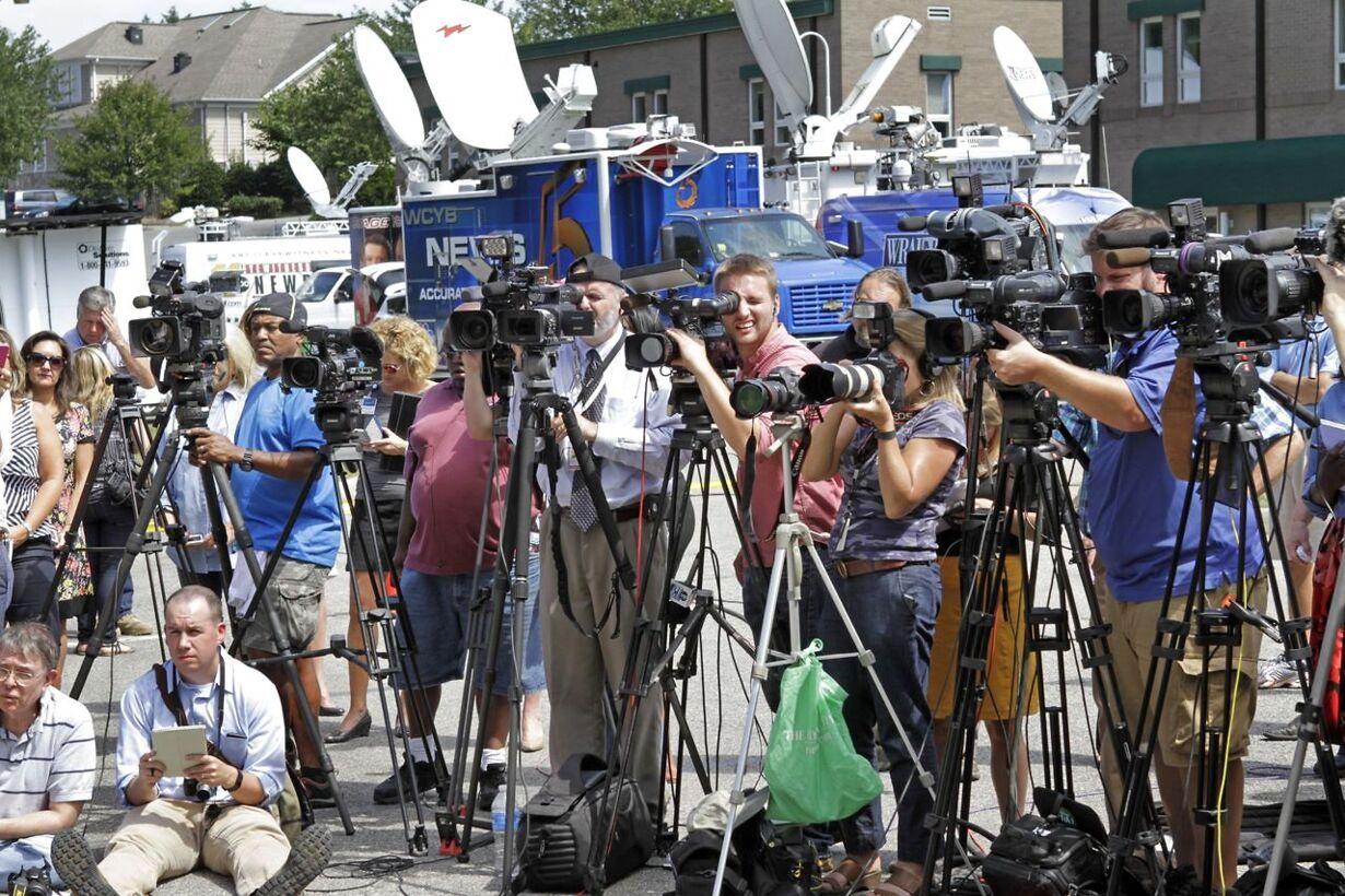 Virginia samlet i sorg efter journalistdrab på live-TV
