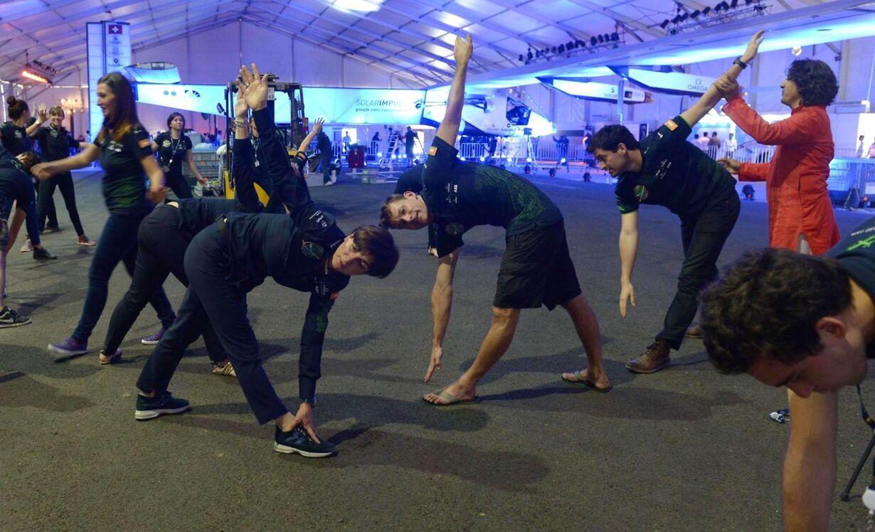 Se de mærkværdige billeder: Atypiske yoga-steder