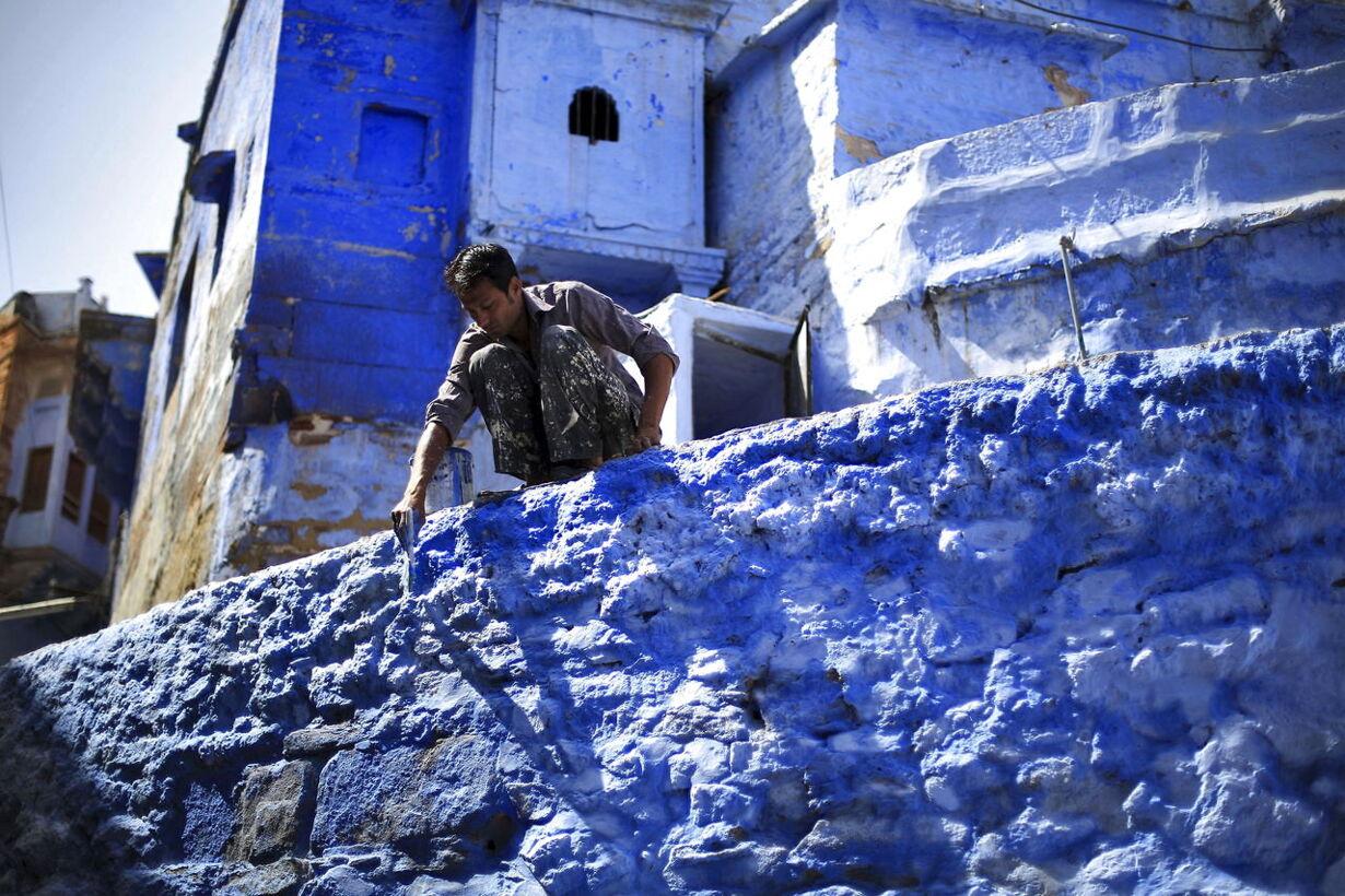 Byen hvor alt er blåt