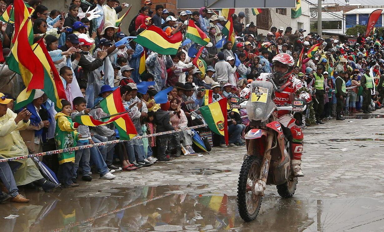 BOLIVIA RALLY DAKAR 2015