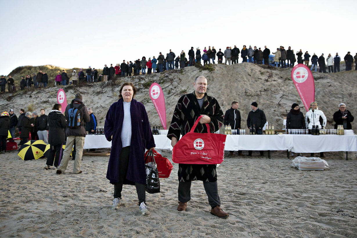 Søndervig vinterbadefestival 2014