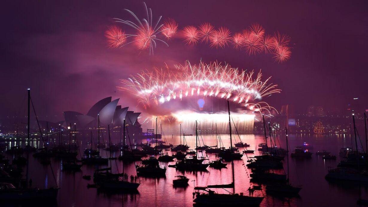 Billedserie: Nytårsaften verden rundt TOPSHOTS-AUSTRALIA-NEW YE