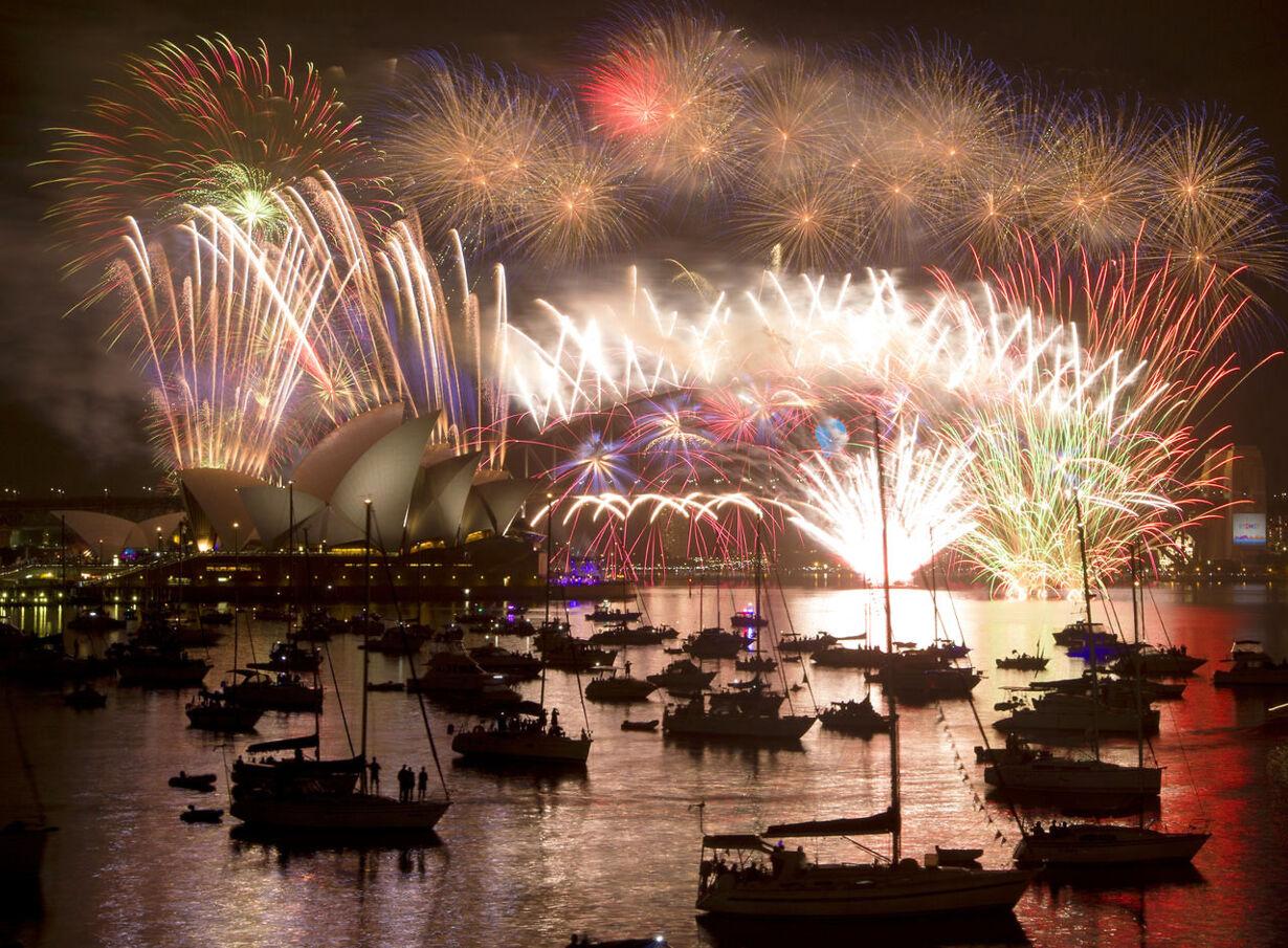 Billedserie: Nytårsaften verden rundt NEWYEAR-CELEBRATION