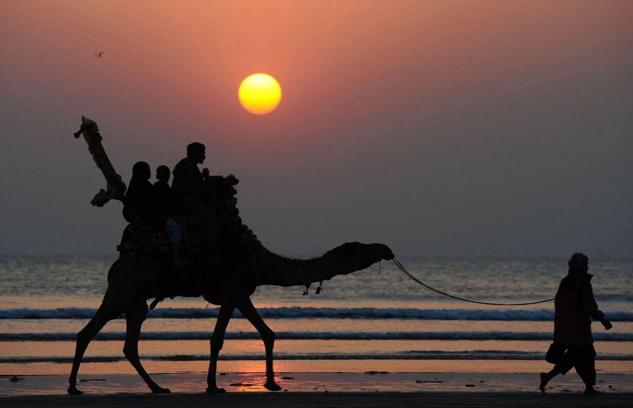Billedserie: Nytårsaften verden rundt TOPSHOTS-PAKISTAN-NEW YEA