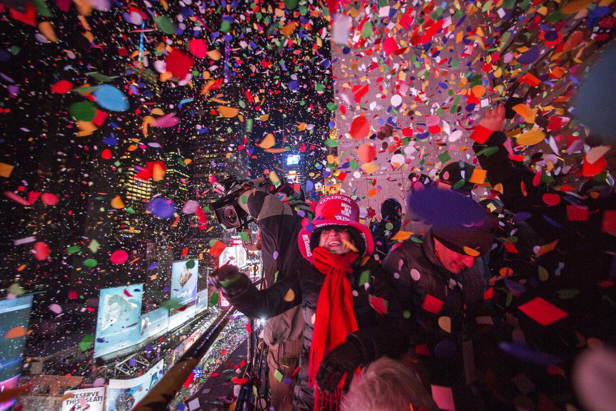 Billedserie: Nytårsaften verden rundt NEWYEAR-CELEBRATION/
