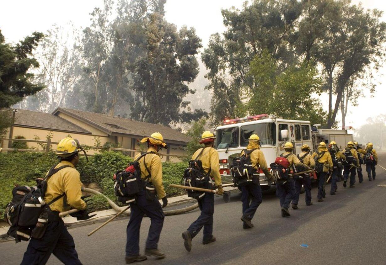 Brand i Californien - opdateret  - 8