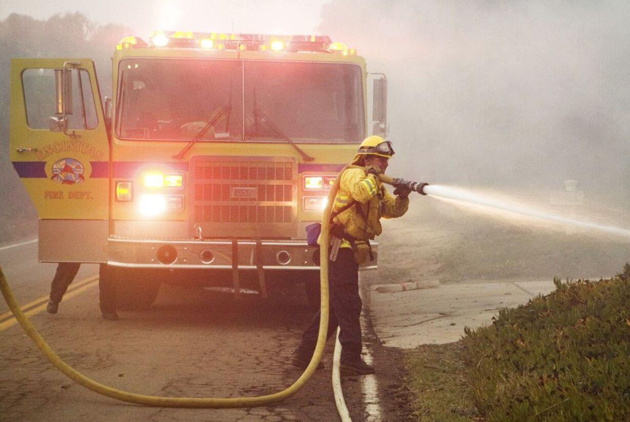 Brand i Californien - opdateret  - 10