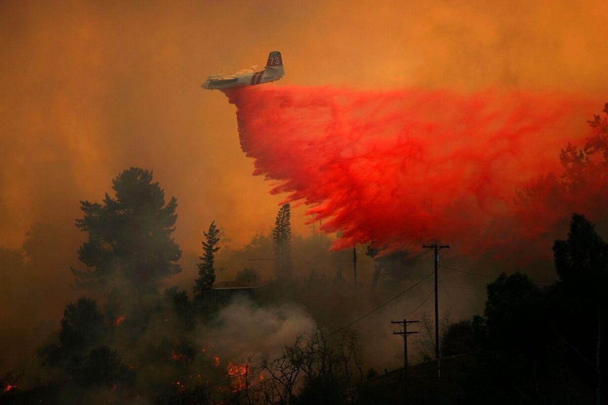 Brand i Californien - opdateret  - 11