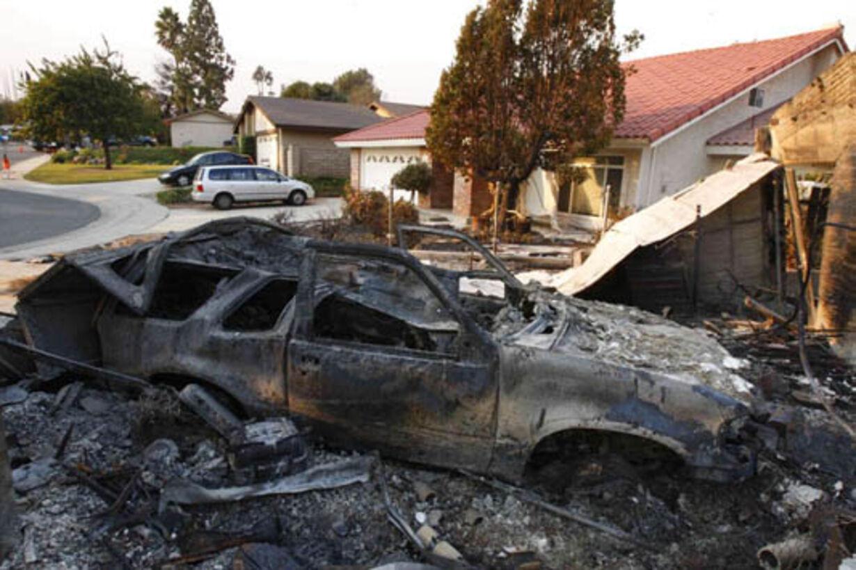 Brand i Californien - opdateret  - 13