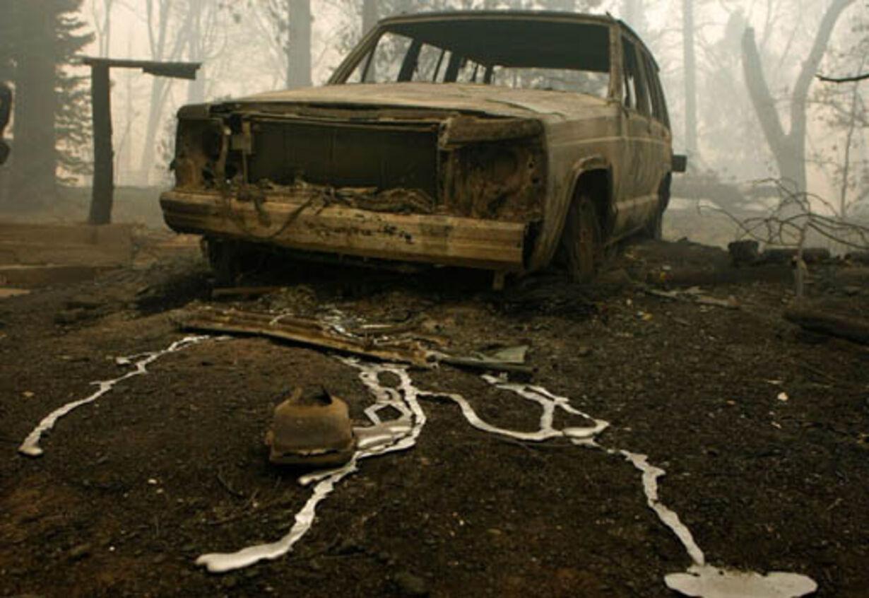 Brand i Californien - opdateret  - 18