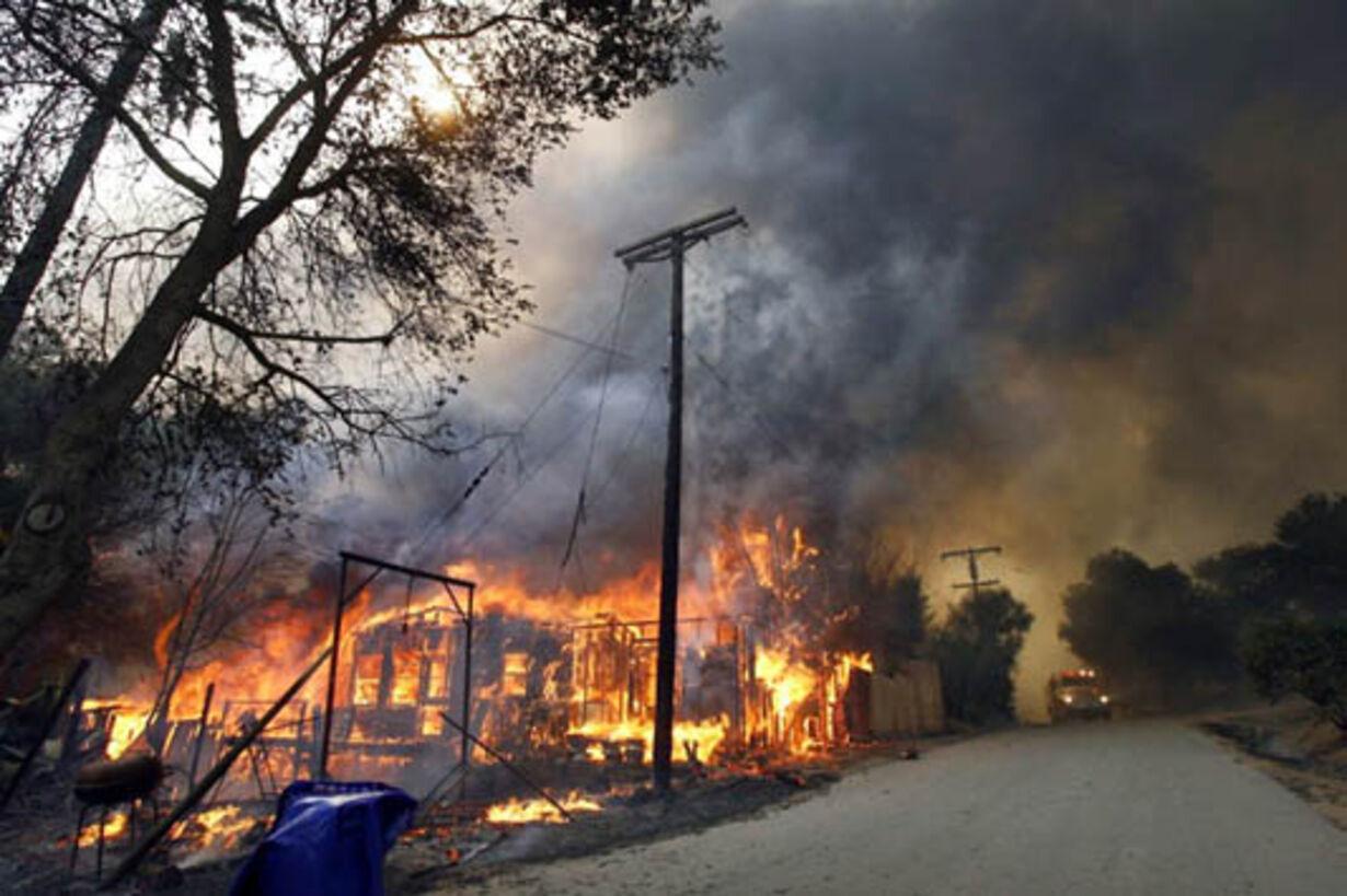 Brand i Californien - opdateret  - 19