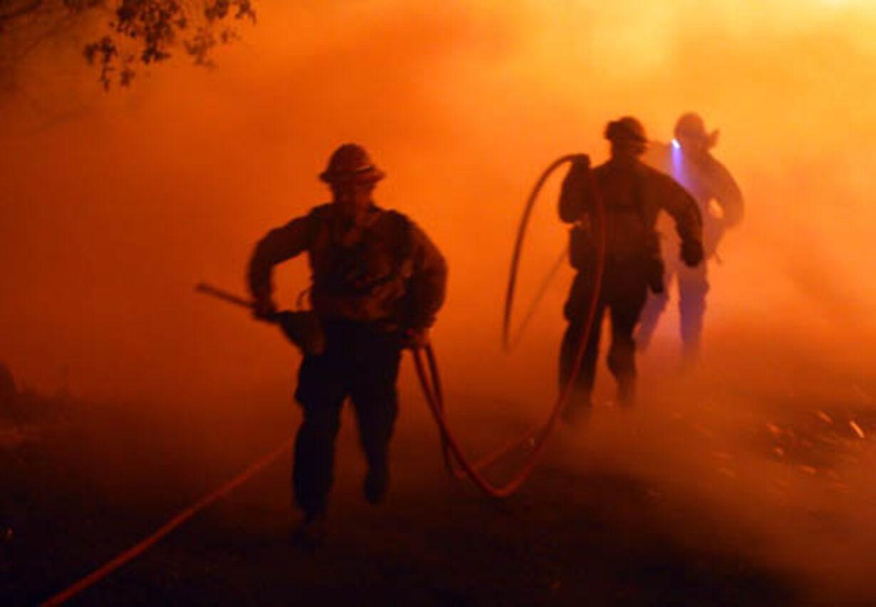 Brand i Californien - opdateret  - 22