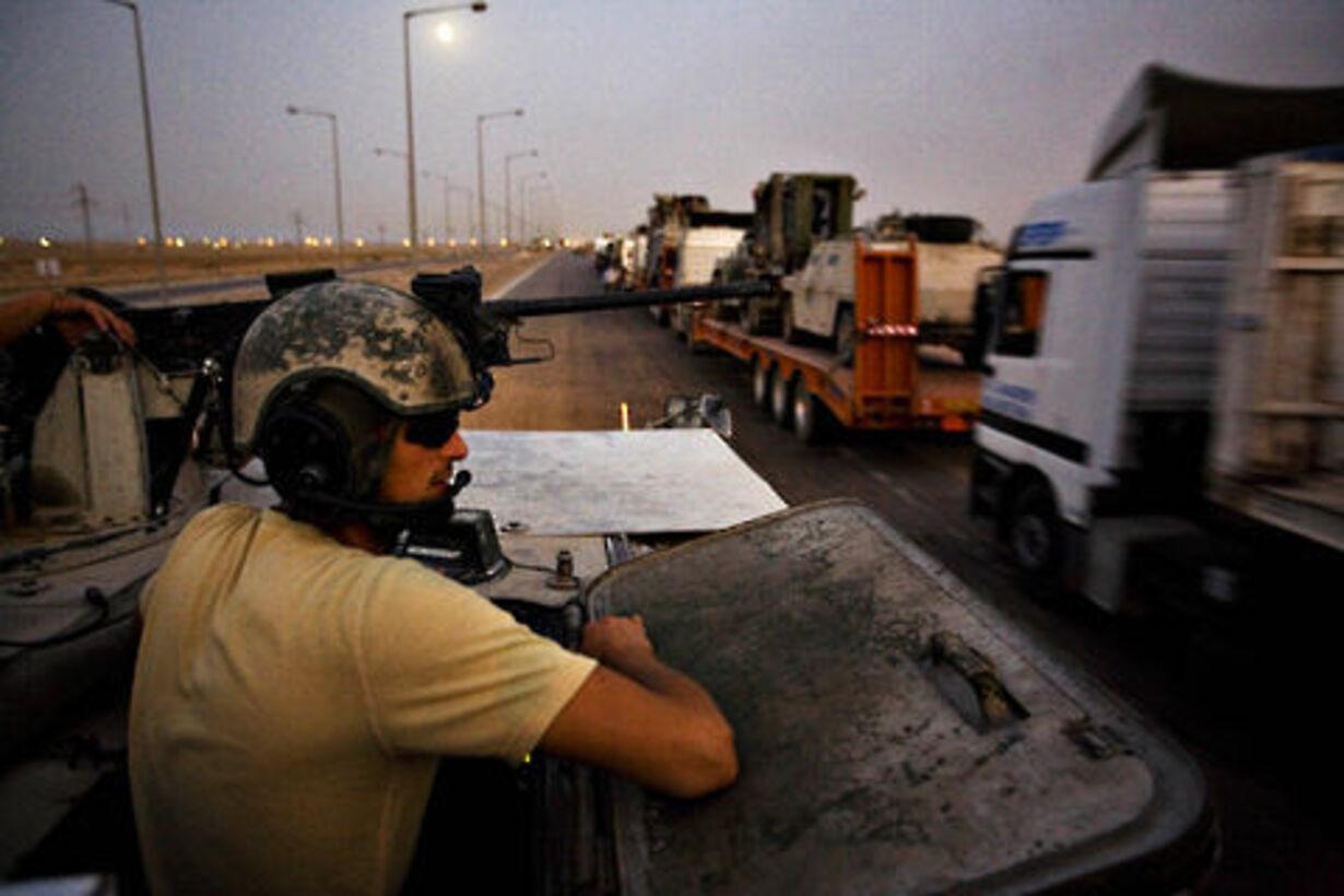 Sidste konvoj ud af Irak - 4