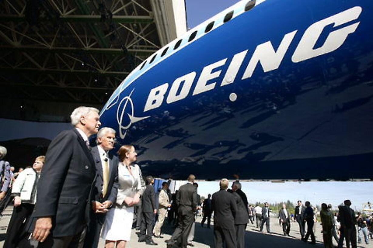 Boening 787 i luften - 1