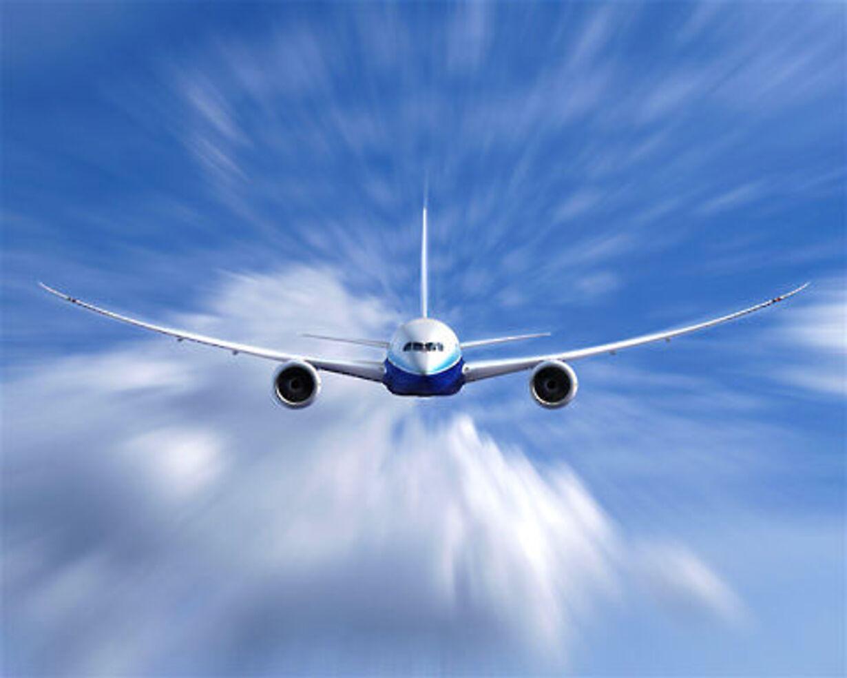 Boening 787 i luften - 8