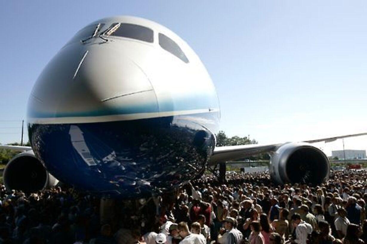 Boening 787 i luften - 10