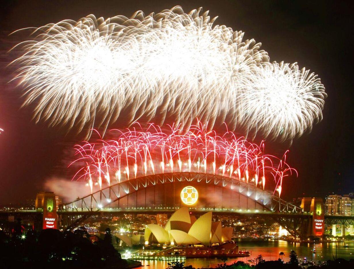 Nytår verden rundt - 1