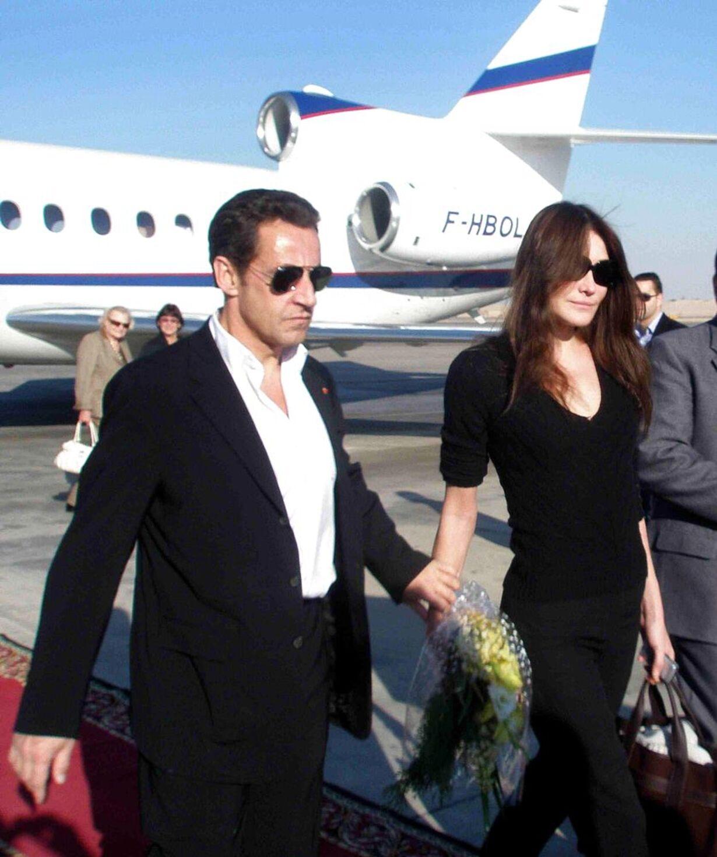 Sarkozy og kæresten - 2