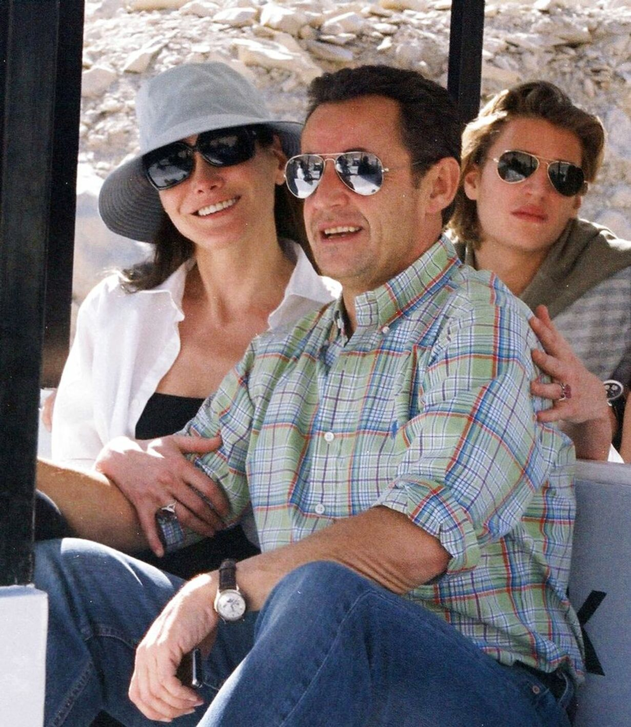 Sarkozy og kæresten - 4