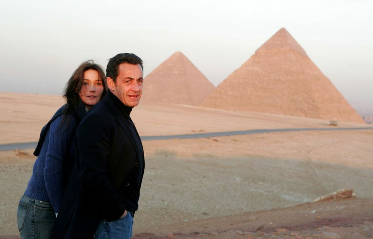 Sarkozy og kæresten - 6