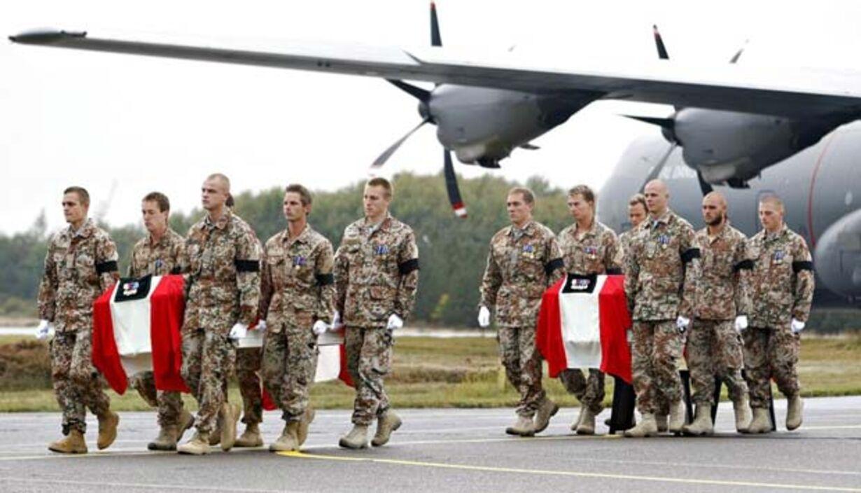 De døde soldater kommer hjem - 1