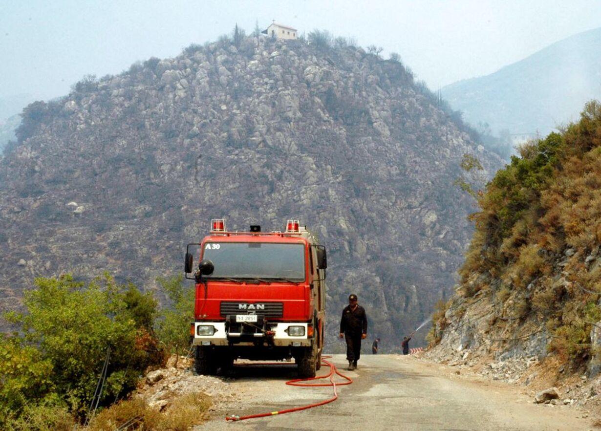 Skovbrande hærger Grækenland - 1