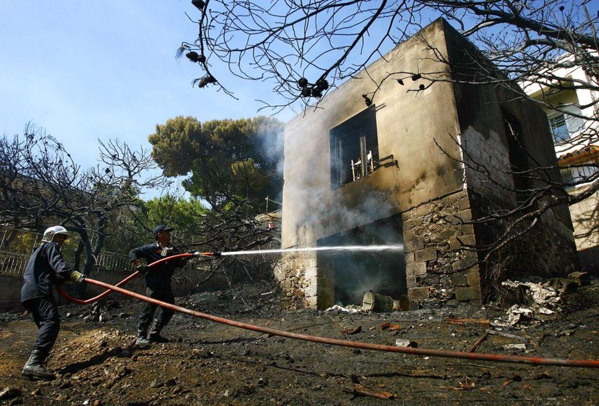 Skovbrande hærger Grækenland - 4