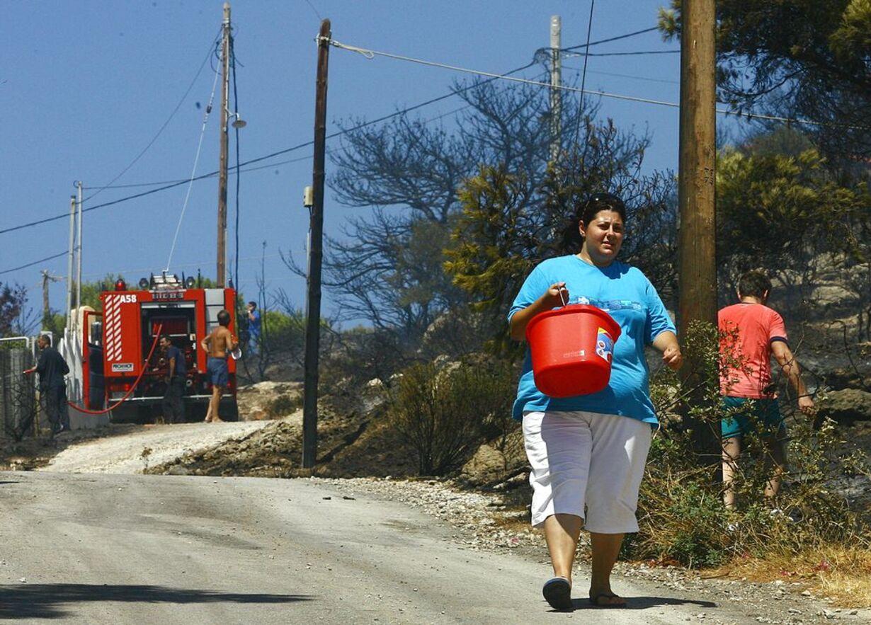 Skovbrande hærger Grækenland - 7