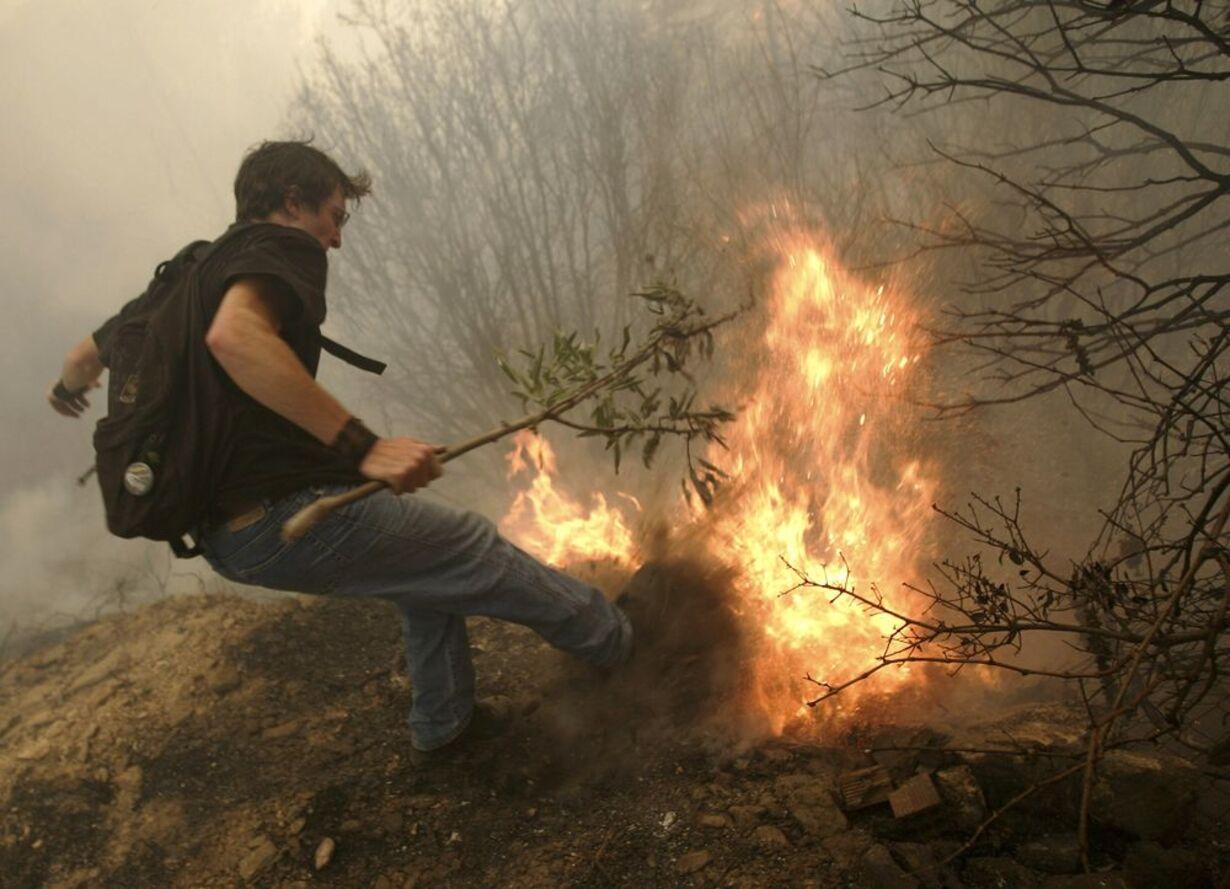 Skovbrande hærger Grækenland - 9