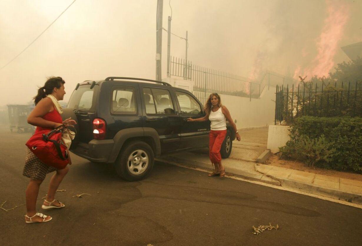 Skovbrande hærger Grækenland - 11