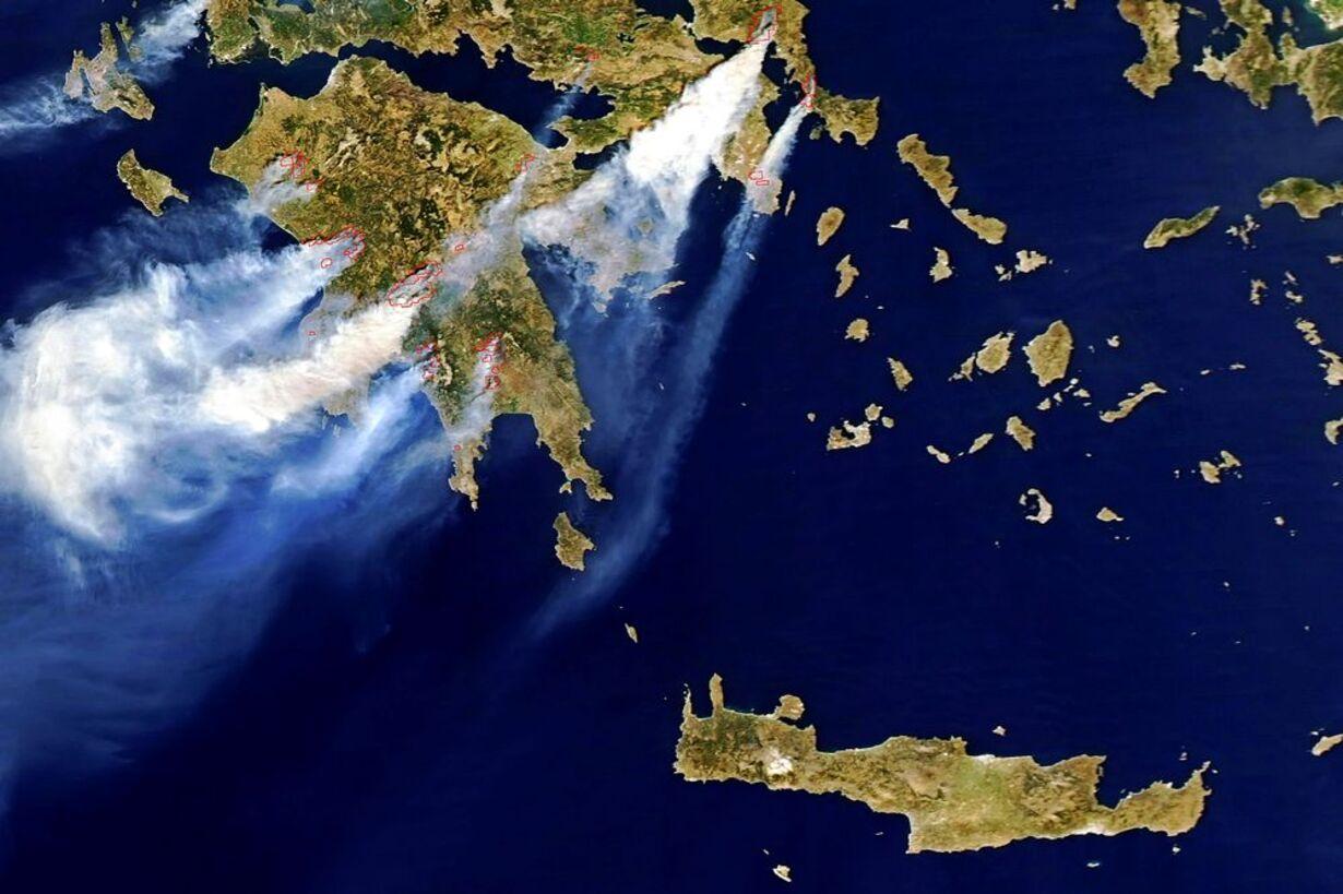 Skovbrande hærger Grækenland - 16