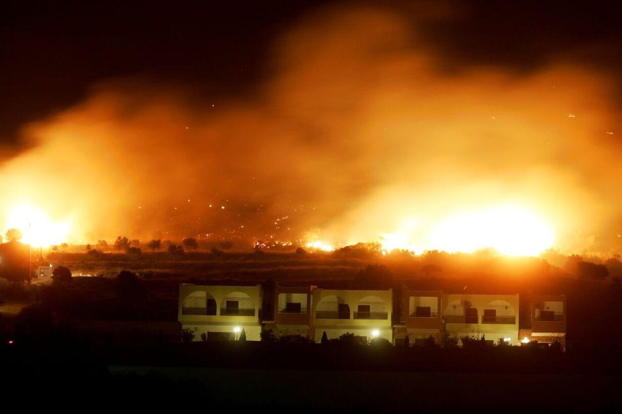 Skovbrande hærger Grækenland - 18