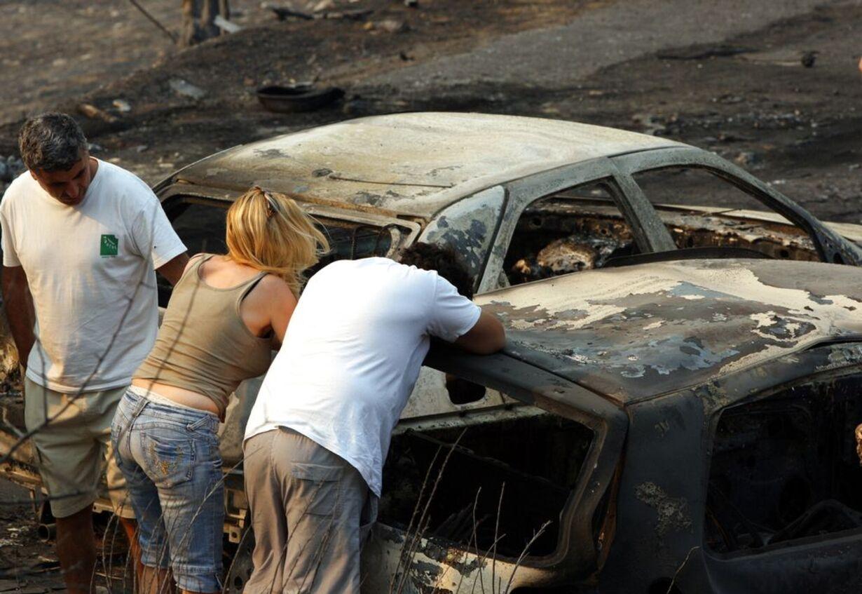 Skovbrande hærger Grækenland - 21