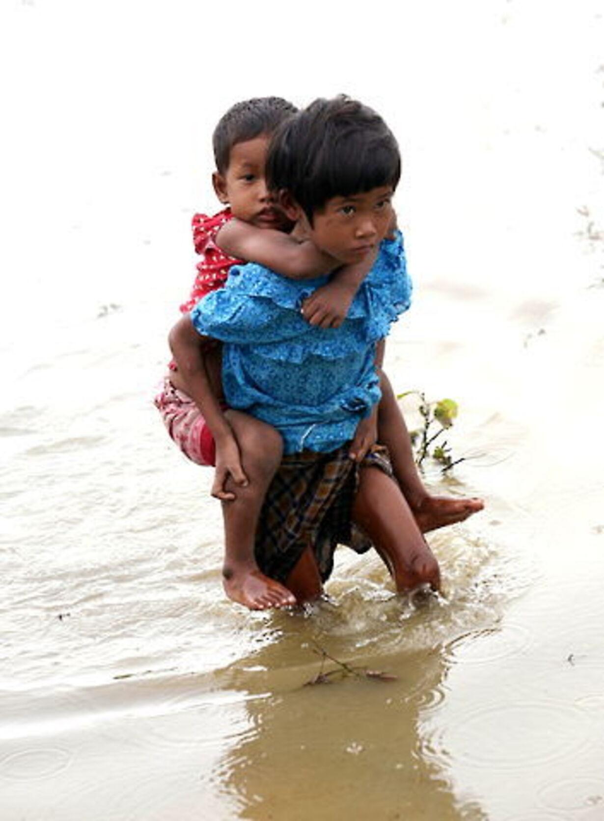 Oversvømmelse i Yangon - 1
