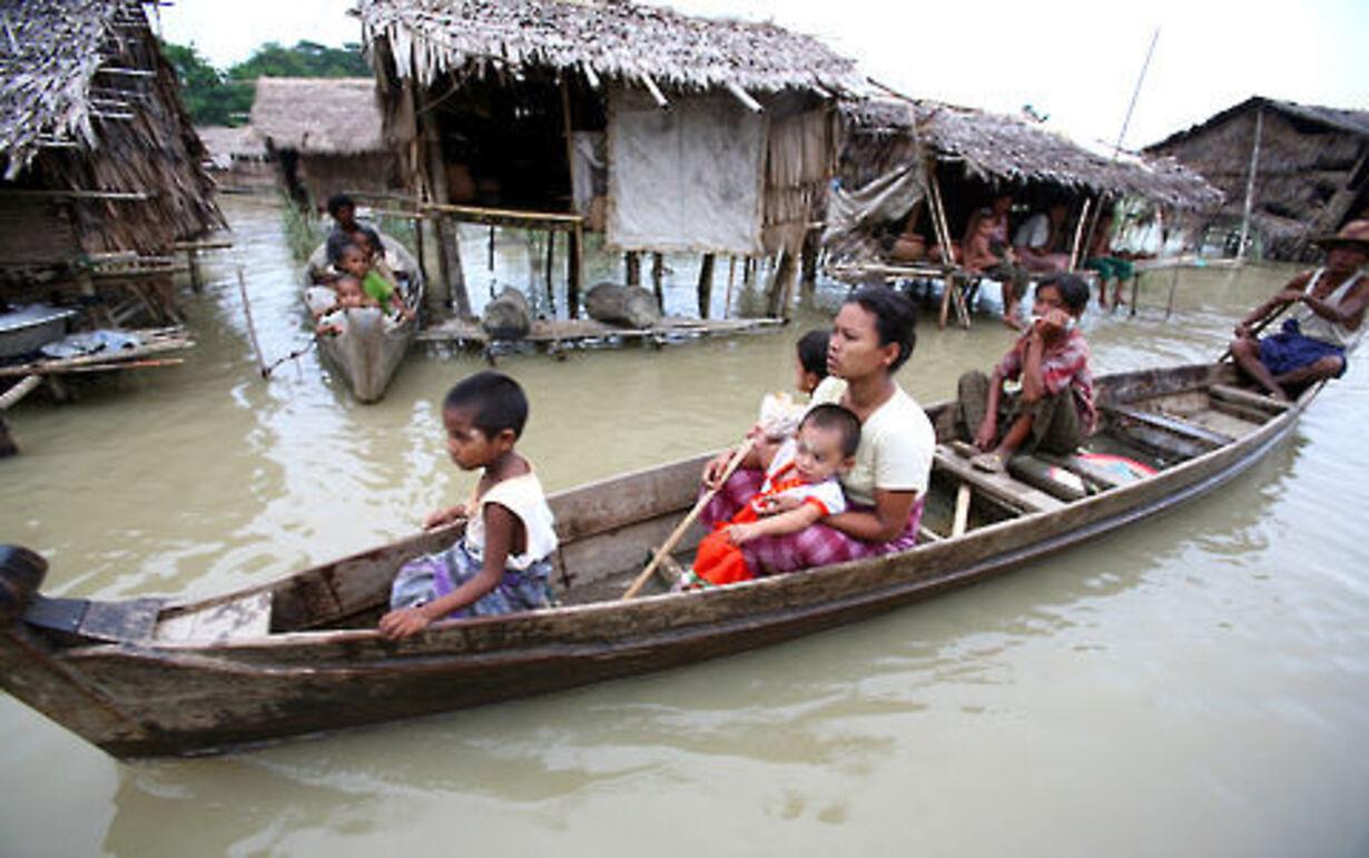Oversvømmelse i Yangon - 7