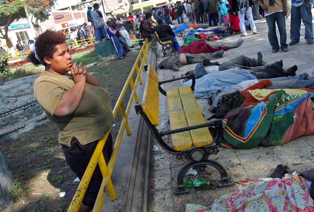 Jordskælvet i Peru - 2